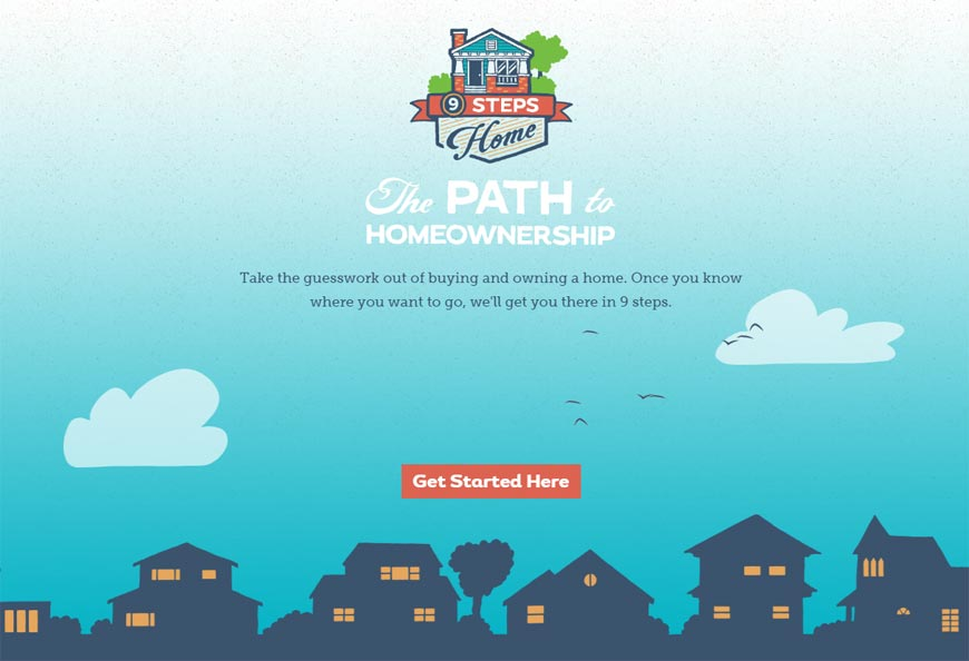 9 Steps Home - The Path to Homeownership