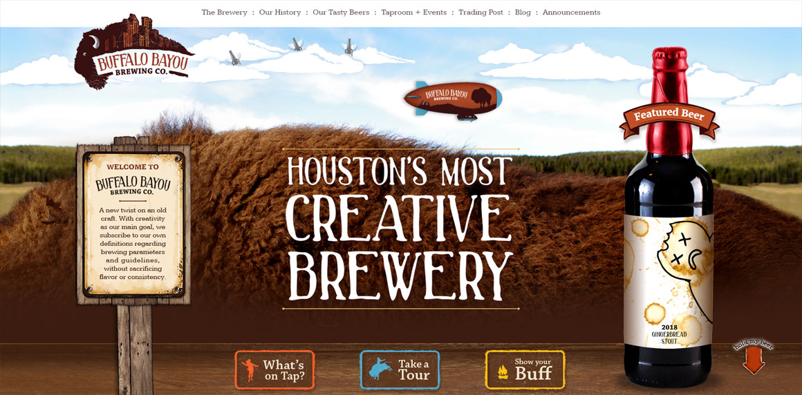 Buffalo Bayou Brewing Company - Home Page