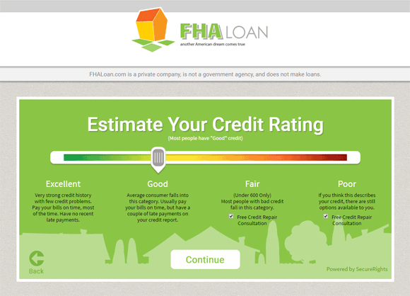 FHA.com: Mortgage Application