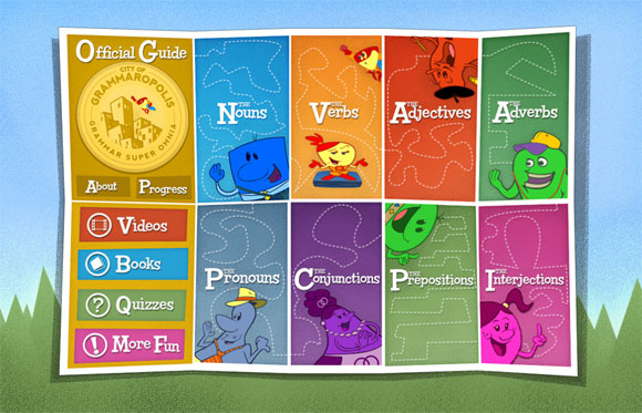 Grammaropolis iPad and iPhone App