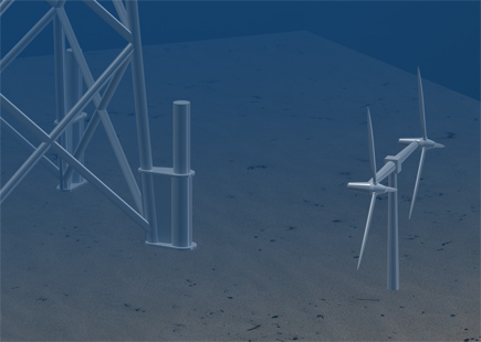 Offshore Renewable Energy Wavefarm