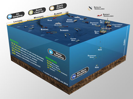 BP Gulf Coast Critical Response Graphic