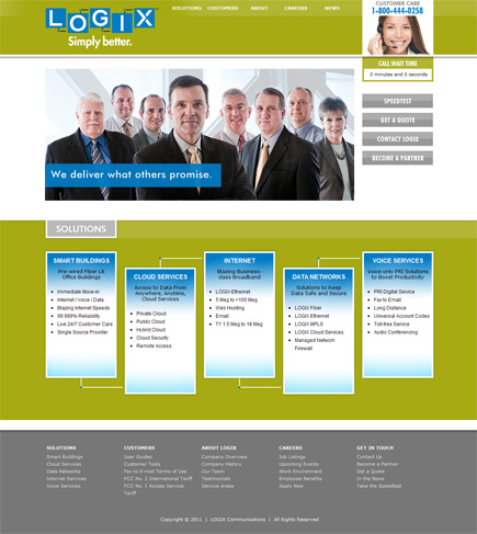 LOGIX Communications Website