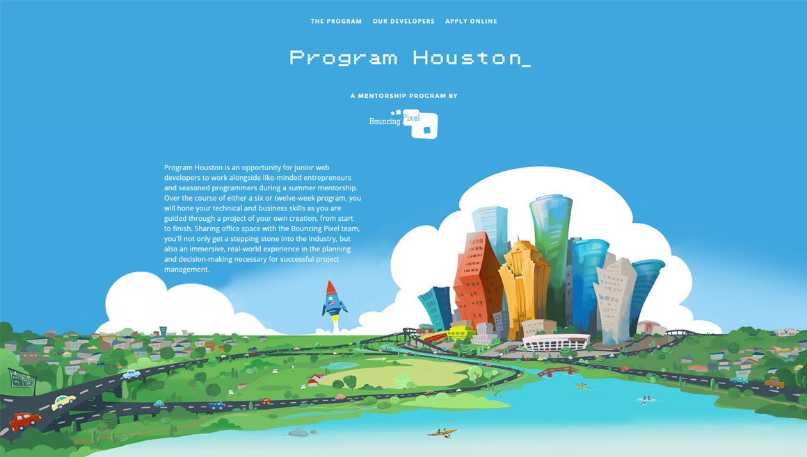 Program Houston Website