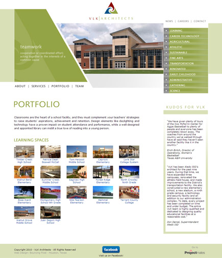 VLK Architects Website